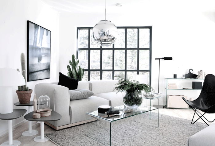 Stylish Ultra-Minimalist Home In Sweden