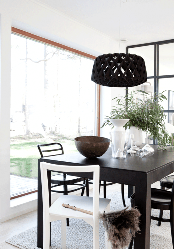Stylish Ultra Minimalist Home In Sweden
