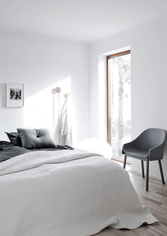 stylish ultra minimalist home in sweden digsdigs