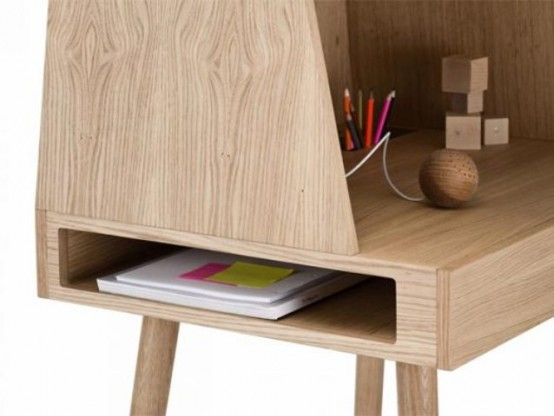 Stylish Vilfred Desk Combining Classic Design And Modern Lines