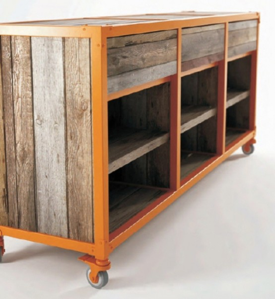 Stylish Vintage Suitcase Like Furniture Collection