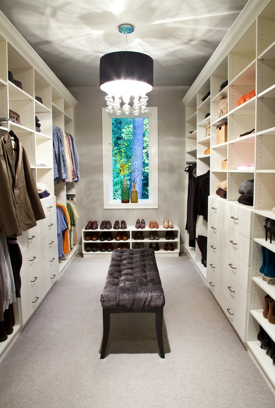 Small Walk In Closet 100 stylish and exciting walk-in closet design ideas - digsdigs