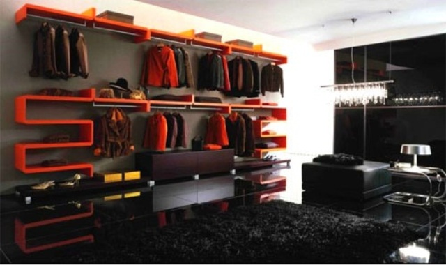 Stylish Walk In Closets
