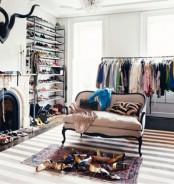Stylish Walk In Closets