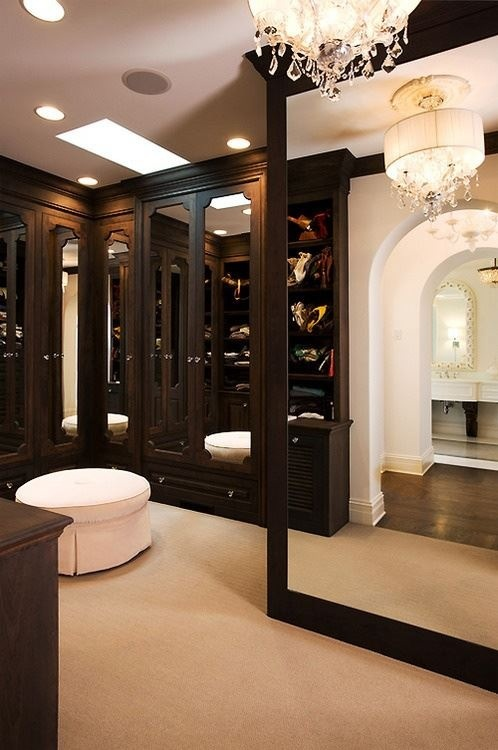 Black Mirror Closet Doors