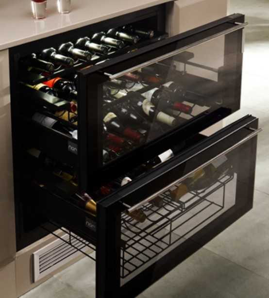 Stylish Well Equipped Wine Cooler