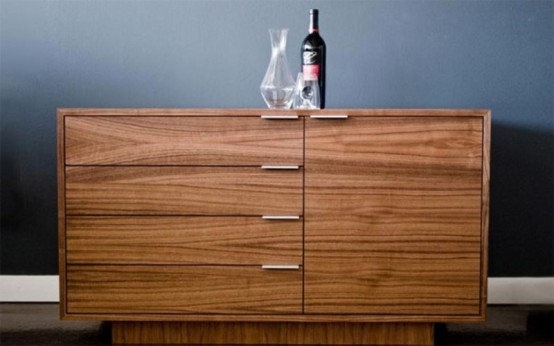 Stylish Wine Credenza For Wine Conoisseurs