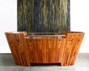Stylish Wooden Jacuzzi For Two