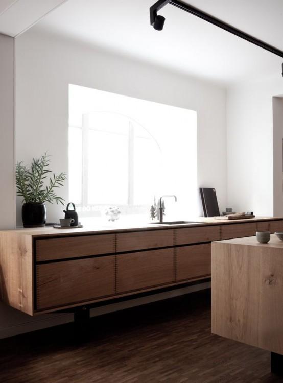 22 stylish wooden kitchen designs that aren t boring