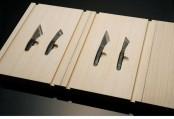 Stylish Wooden Knife Box