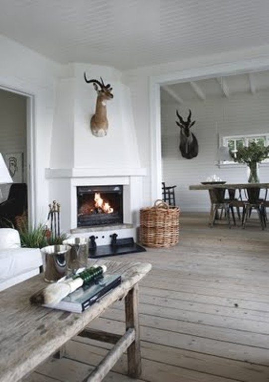 Summer House Decorated With Rough Wooden Furniture Digsdigs