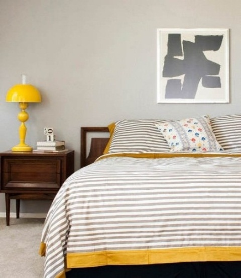Cheerful Summer Interiors 50 Green And Yellow Kitchen: Sunny Yellow Accents In Bedrooms