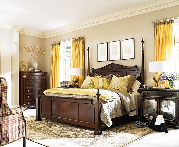 Sunny yellow accents in bedrooms 49 stylish ideas digsdigs - Www heytens com rideaux ...