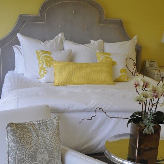 Green Home Design Ideas: Sunny Yellow Accents In Bedrooms