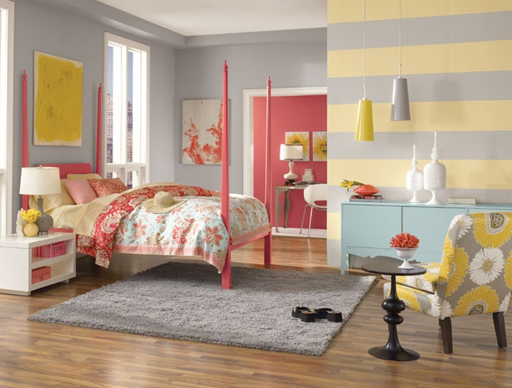 Sunny Yellow Accents In Bedrooms - 49 Stylish Ideas   DigsDigs