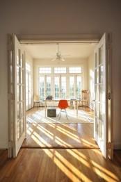 Sunroom As A Home Office