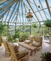 Sunroom As An Indoor Garden