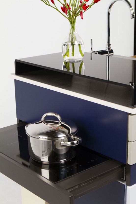 Super Compact Gali Module Kitchen With Everything At Hand