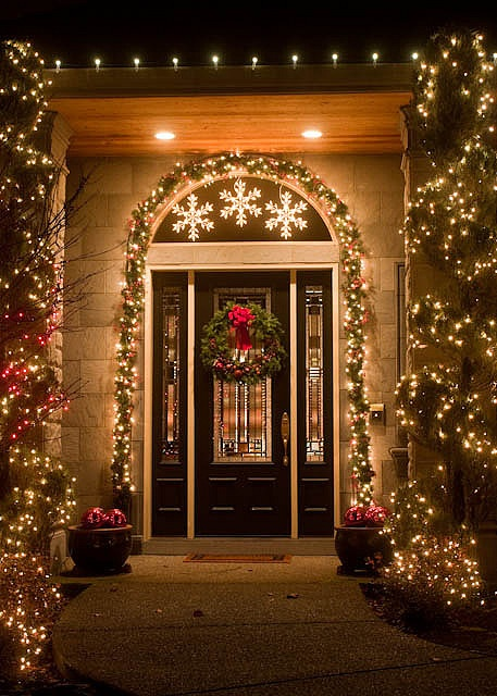 super cool outdoor decor ideas with christmas lights - Christmas Lights Decorations Outdoor Ideas
