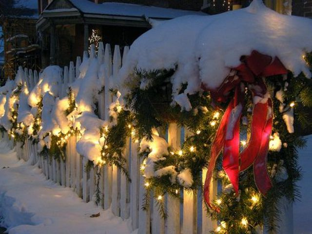 26 Super Cool Outdoor D 233 Cor Ideas With Christmas Lights