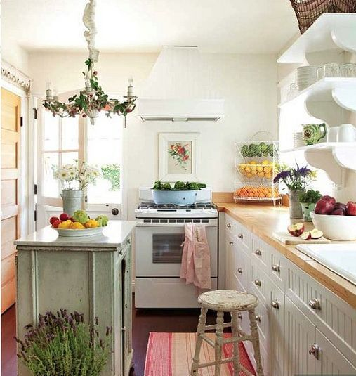 Cozy Kitchen: 38 Super Cozy And Charming Cottage Kitchens