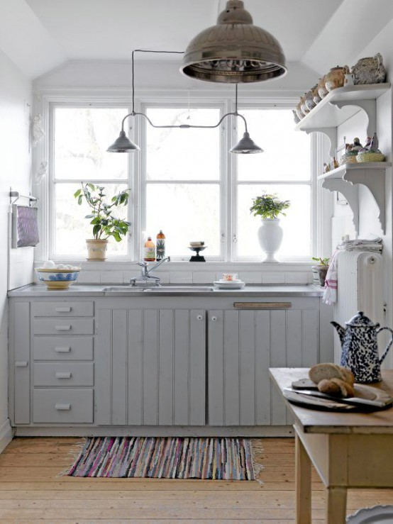 Super Cozy And Charming Cottage Kitchens Digsdigs