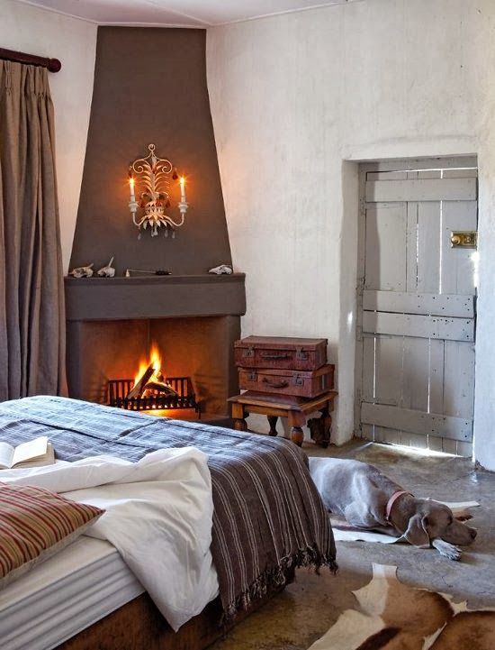 Super Cozy And Comfy Bedrooms With A Fireplace