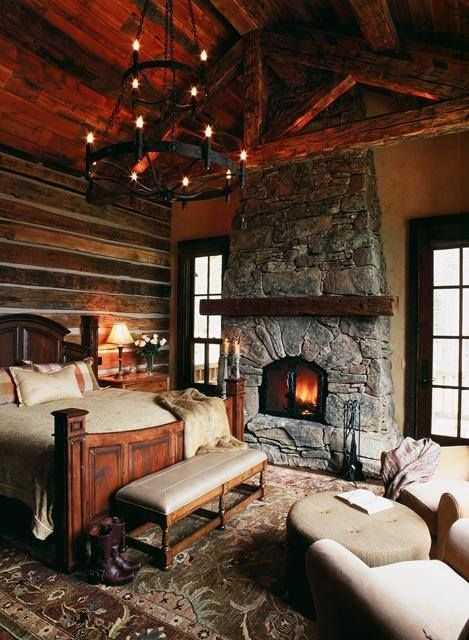 27 Super Cozy And Comfy Bedrooms With A Fireplace Digsdigs