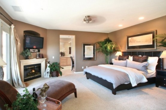 27 Super Cozy And Comfy Bedrooms With A Fireplace - DigsDigs on Comfy Bedroom  id=35719