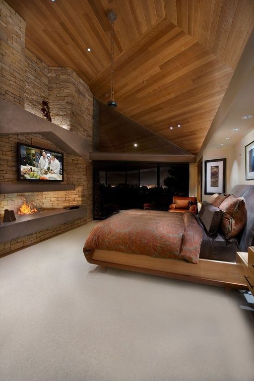 Master Bedroom Bed Design Wooden