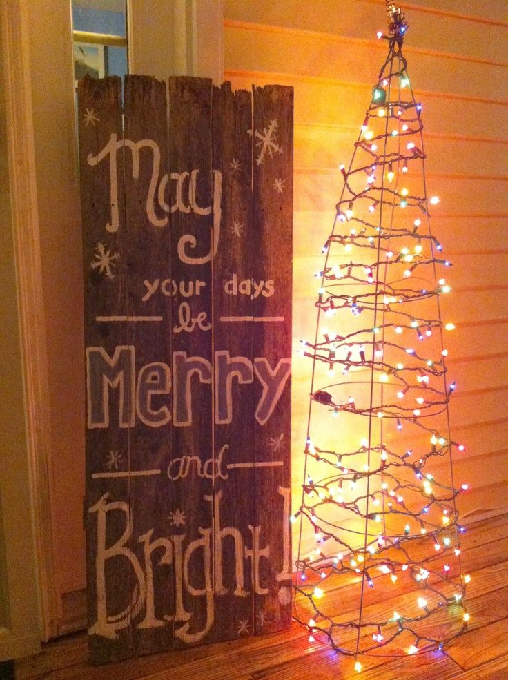 44 Super Cute Christmas Signs For Indoors And Outdoors