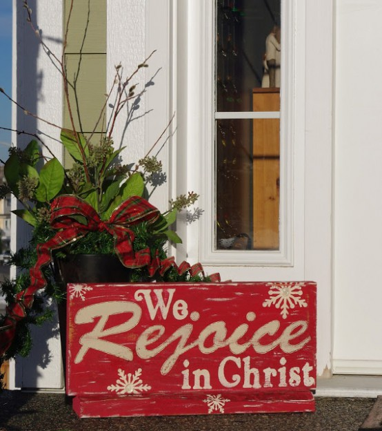 Merry Christmas Outdoor Sign