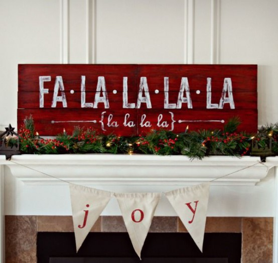 44 Super Cute Christmas Signs For Indoors And Outdoors - DigsDigs
