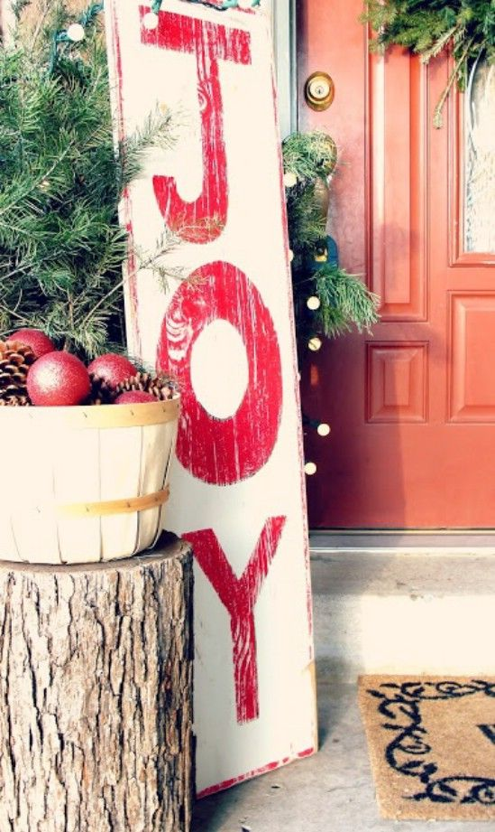 44 Super Cute Christmas Signs For
