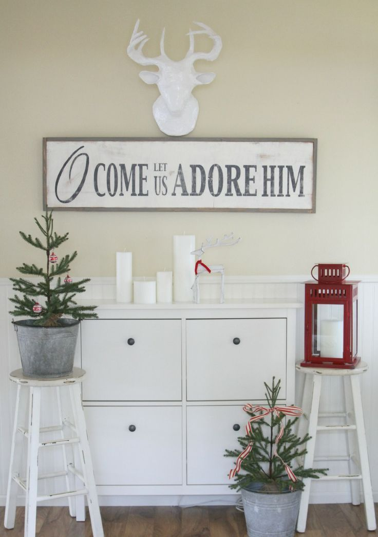 44 super cute christmas signs for indoors and outdoors for Cute christmas decorations