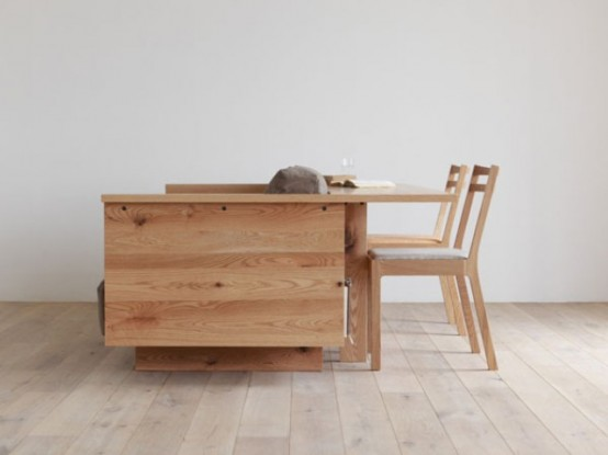 Super Functional Hirashima Furniture Collection For Small Spaces
