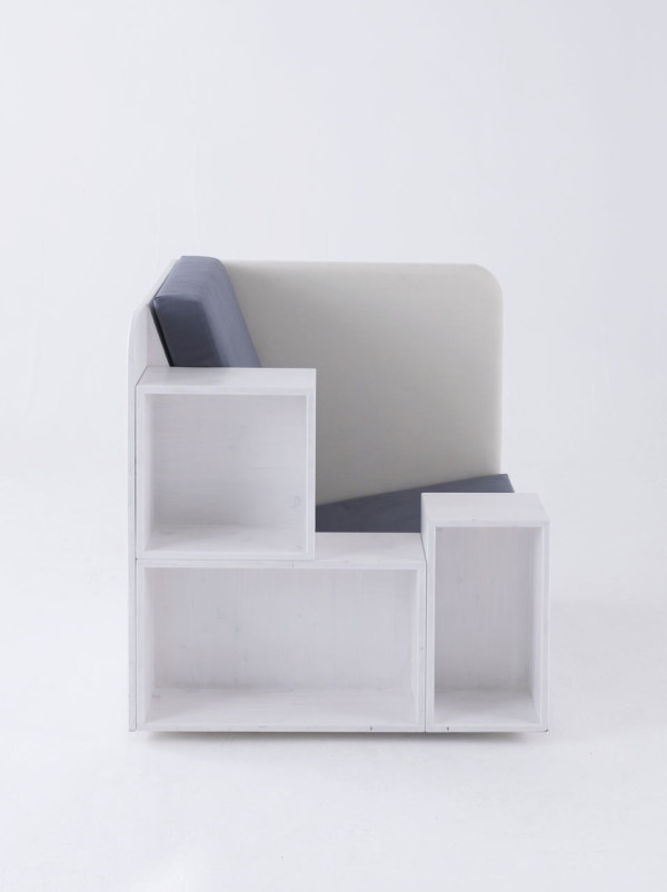 Super Functional Open Book Chair For Readers