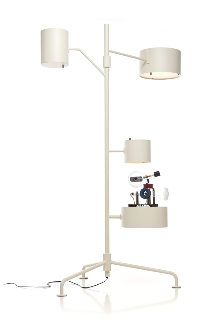 Super Functional Statistocrat Multi Light Floor Lamp