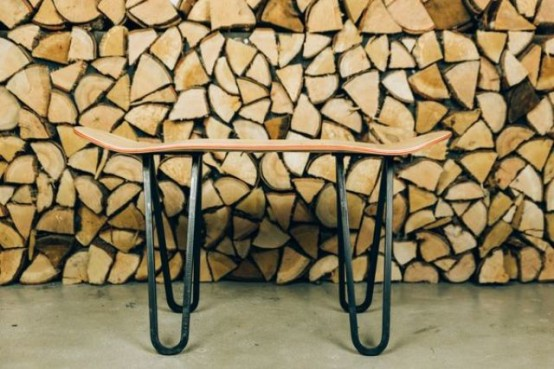 Super Original Handmade Skateboard Tables Collection