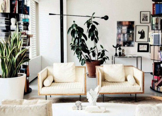 Super Stylish Family Apartment With Trendy Accents