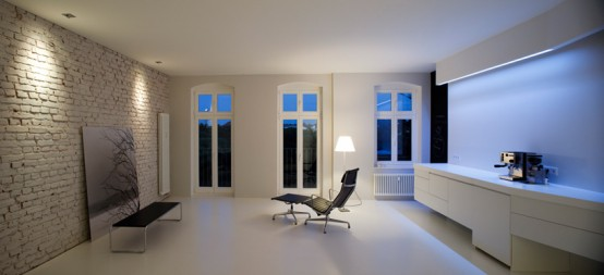 Super White Apartment Interior