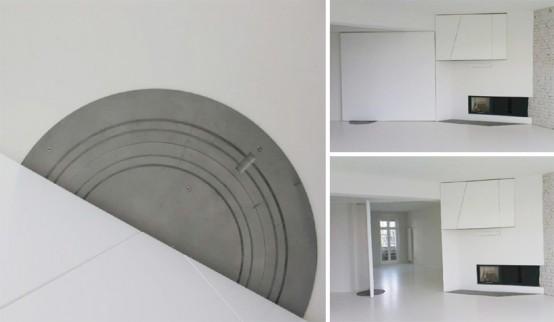 Super White Apartment Interior