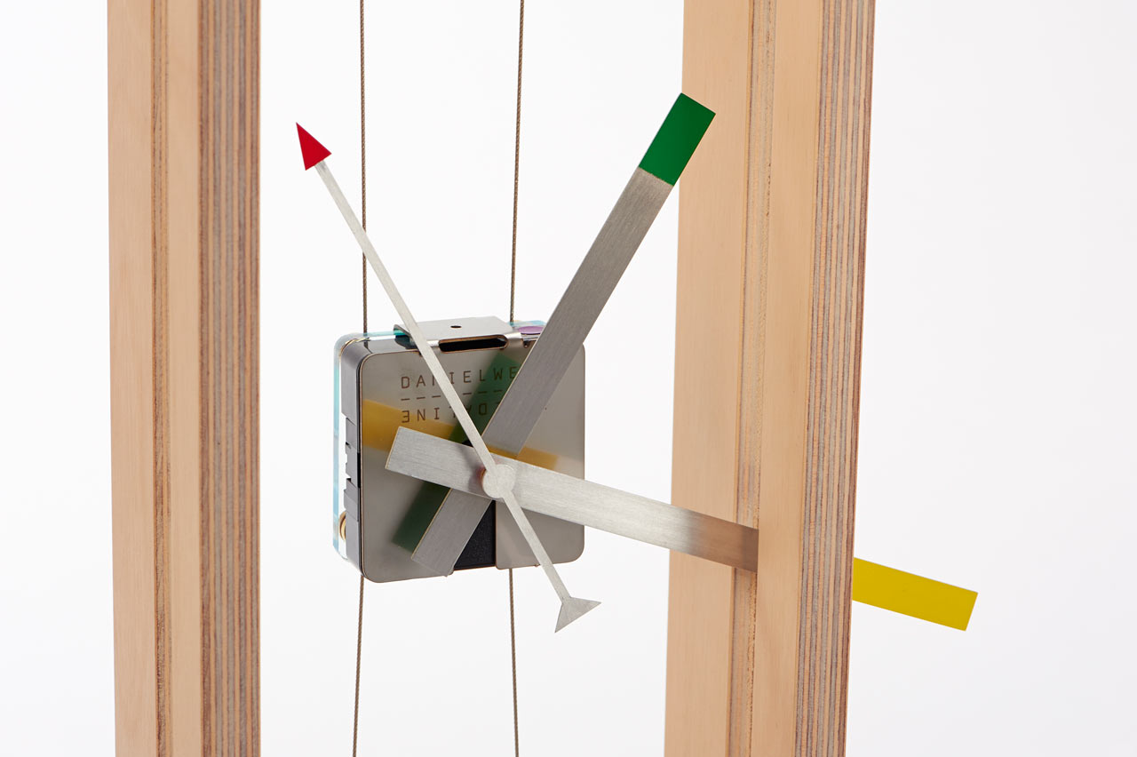 Surreal Instrumental Clock Inspired By Stringed Instruments