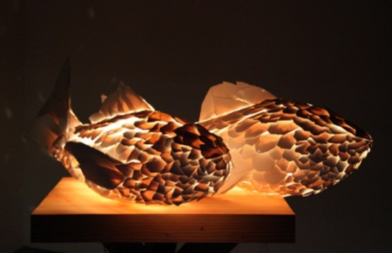 Surrealistic And Unusual Fish Lamps