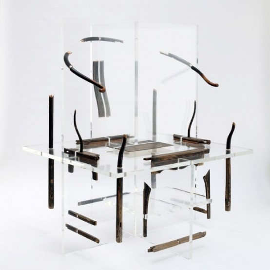 Surrealistic Furniture Inspired By Chinese Hieroglyphs