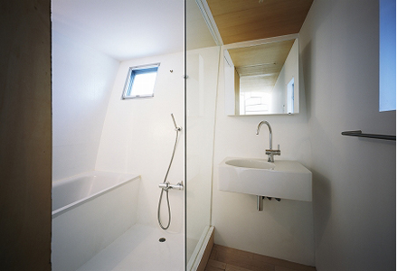 surrealistic house bathroom