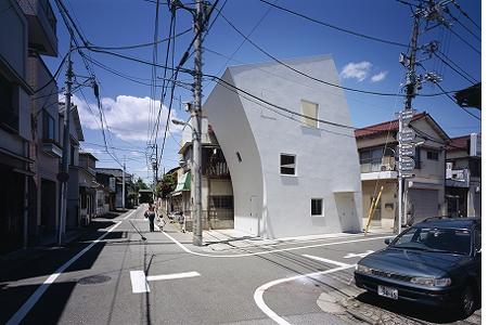 surrealistic house