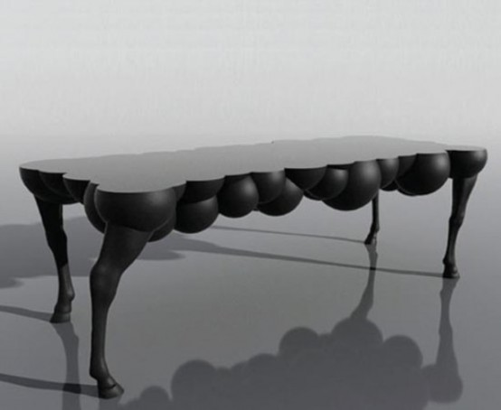 Surrealistic Mad Horse Table