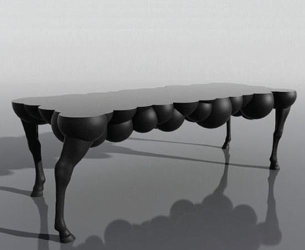Surrealistic Mad Horse Table