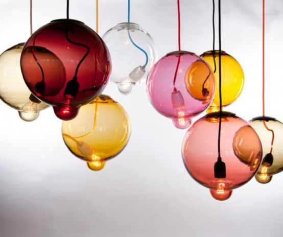 Surrealistic Melting Lamp Inspired By Japan